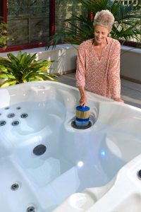 Involve the family in maintaining your hot tub