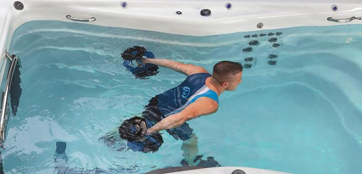 interval training in water