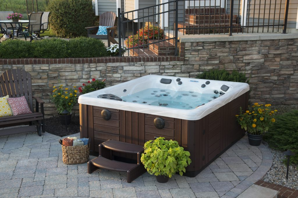 Can You Put A Hot Tub On Grass Your Hot Tub Installation Questions Answered Master Spas Blog