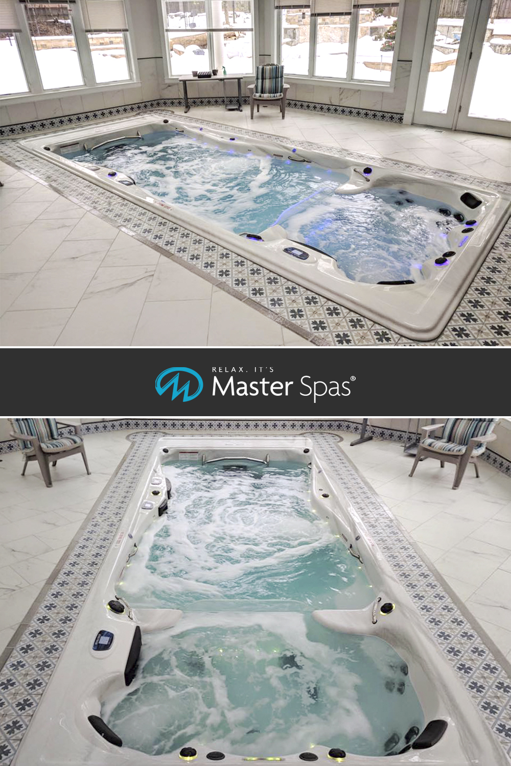 Indoor Swim Spa Installations To Make Your Jaw Drop Master Spas Blog