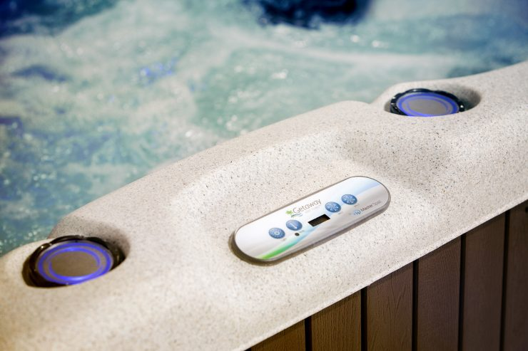best plug and play hot tub
