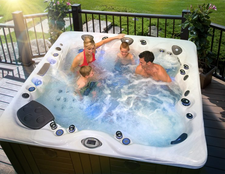 best hot tubs for families