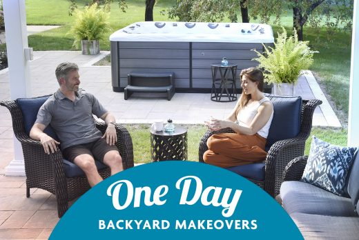 one day backyard makeover