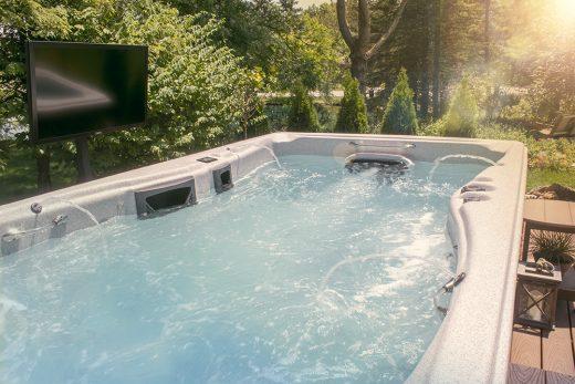 swim spa water care