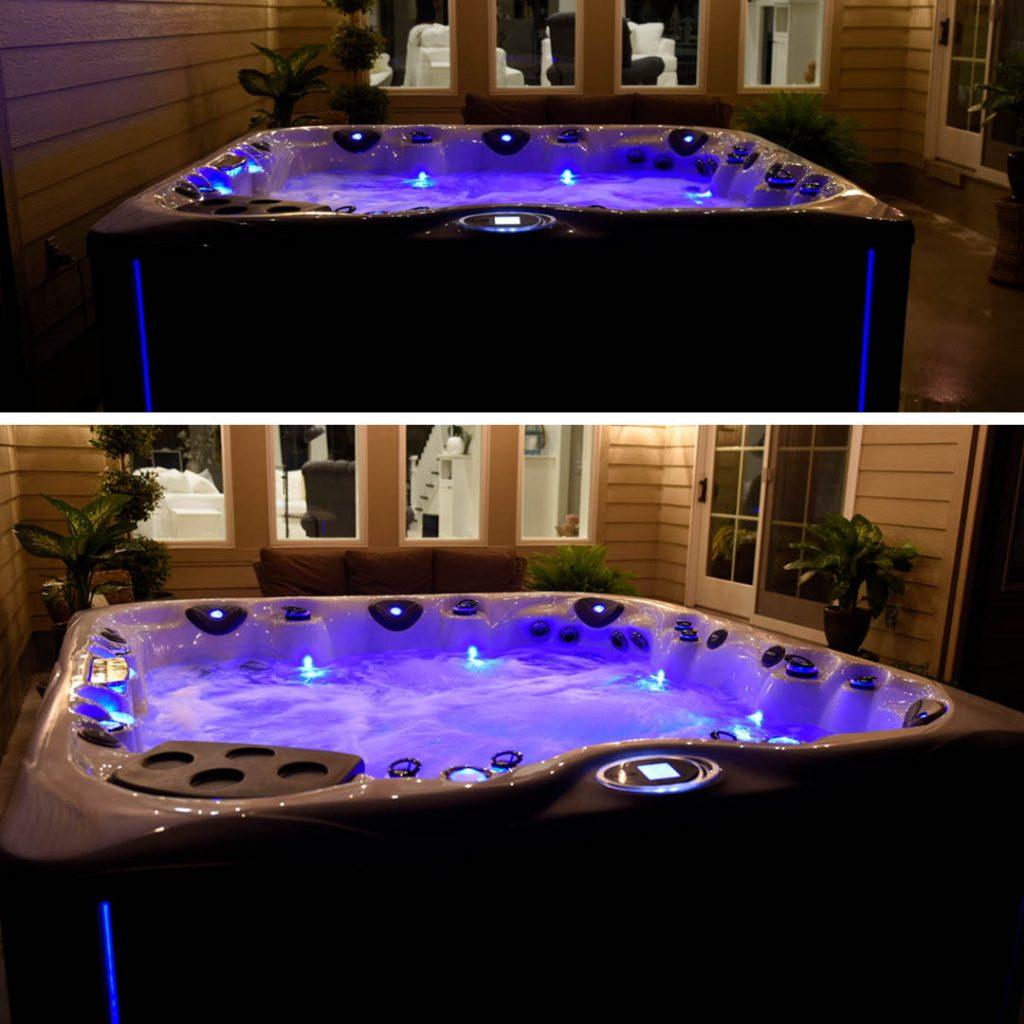 hot tub lighting