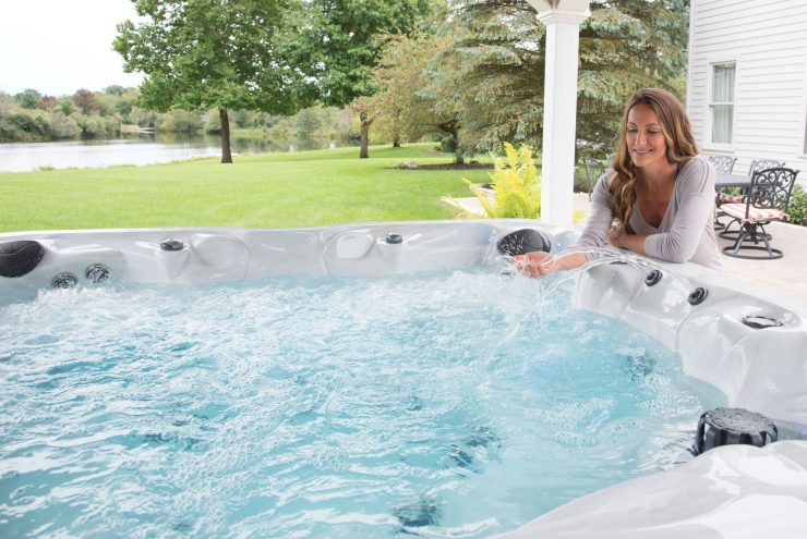 well water hot tub