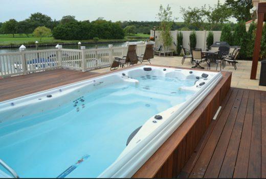 contractor swim spa
