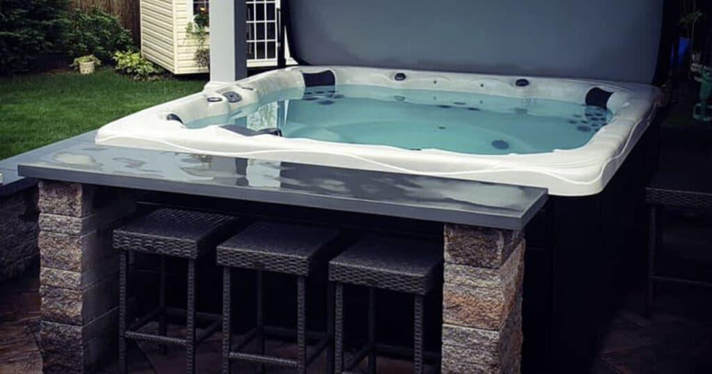 hot tub bar