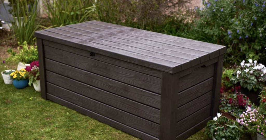 patio deck box