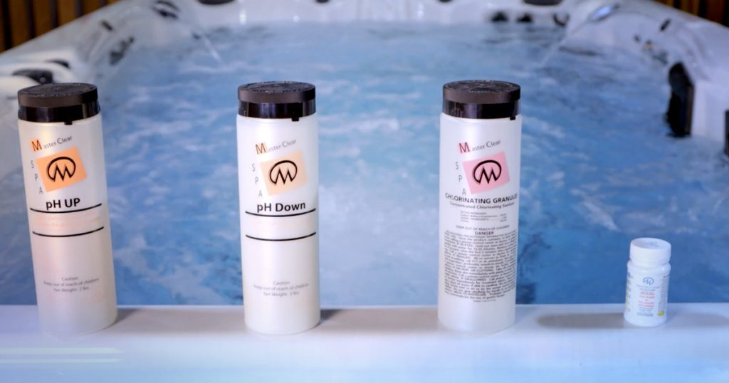 chemicals for hot tub