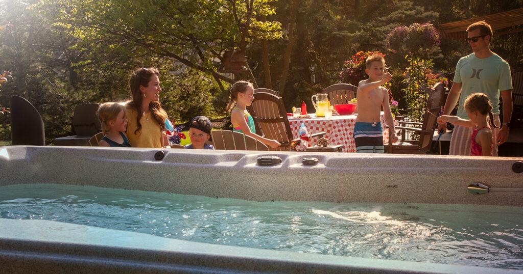 swim spa party tips