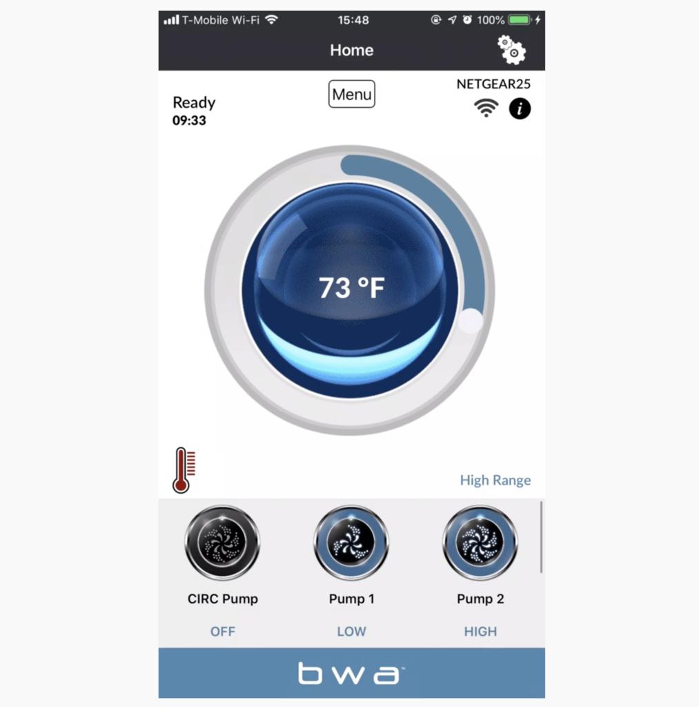 spa control app