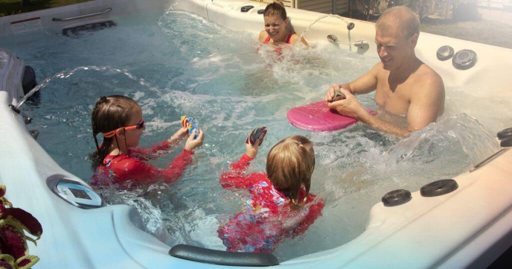 swim spa owner