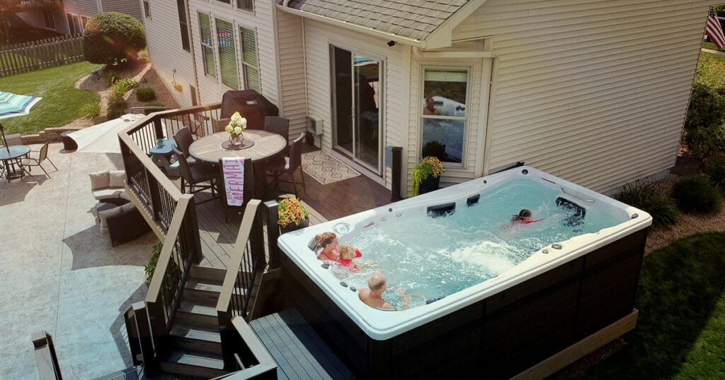 best swim spa