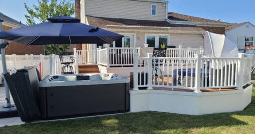 hot tub deck tips