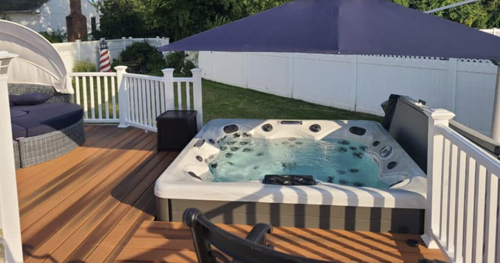 Should I Put My Hot Tub On A Deck Master Spas Blog