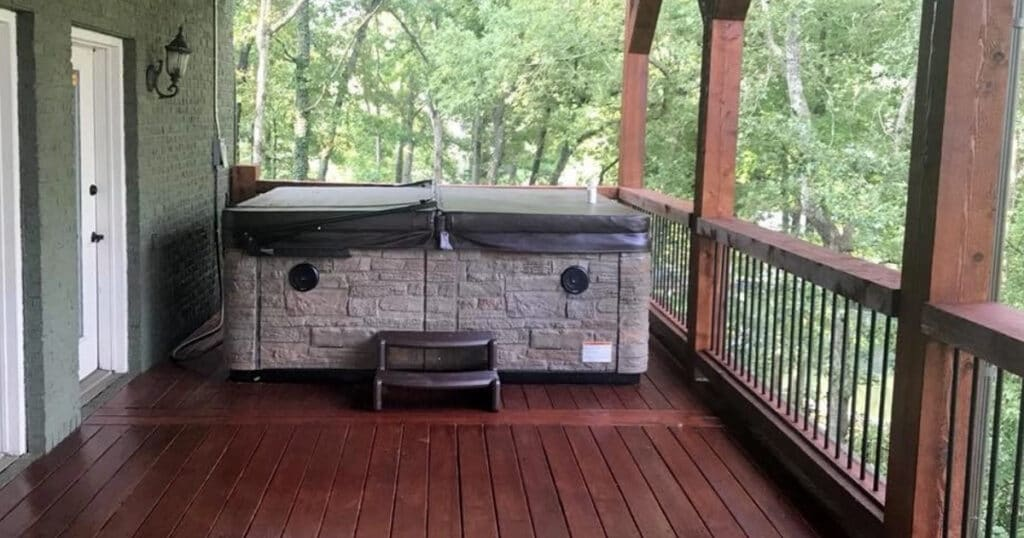 backyard hot tub tips