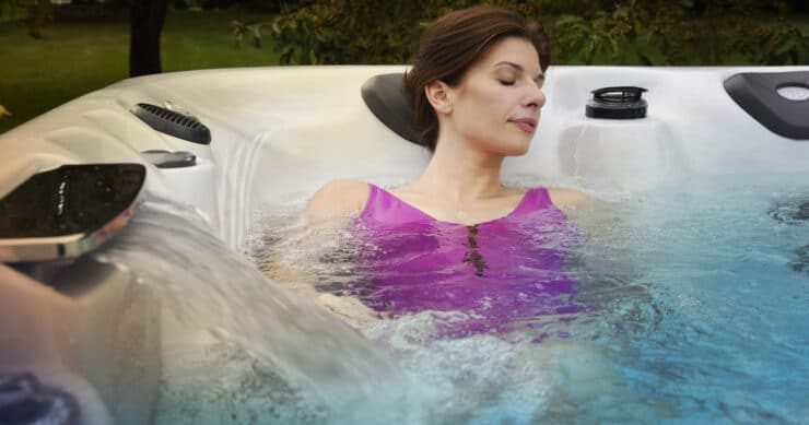 hot tub meditation