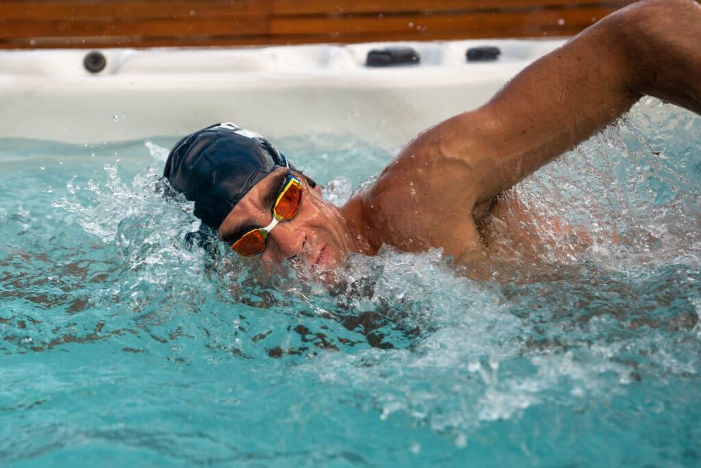 triathlete swim spa