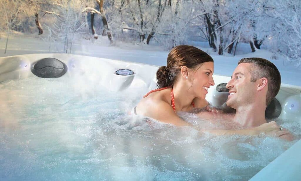 hot tub for small spaces