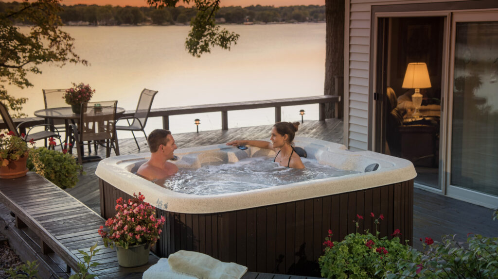 110v hot tub