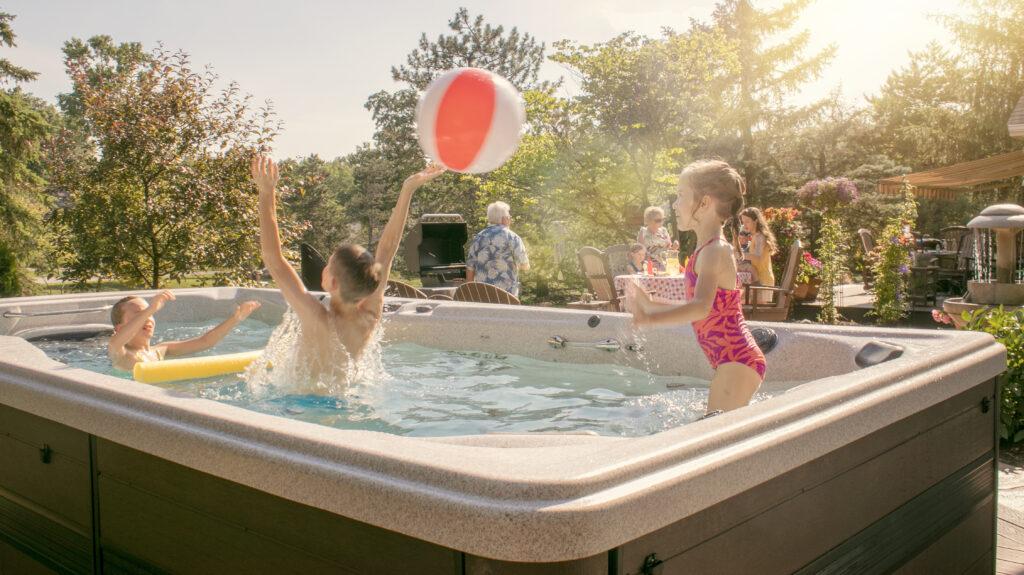 family swim spa