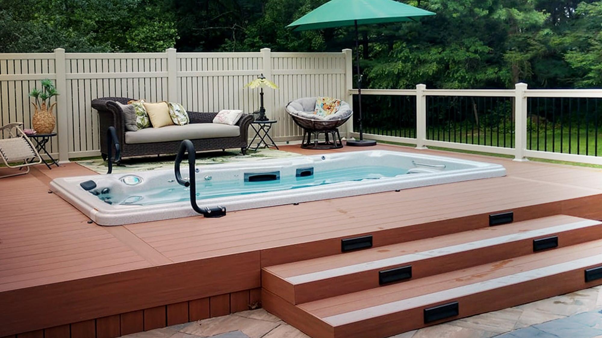 Best Swim Spas for Small Spaces   Master Spas Blog