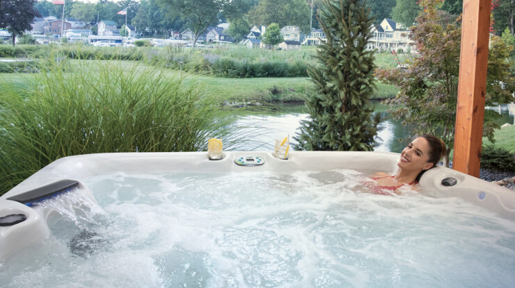 best five person hot tubs