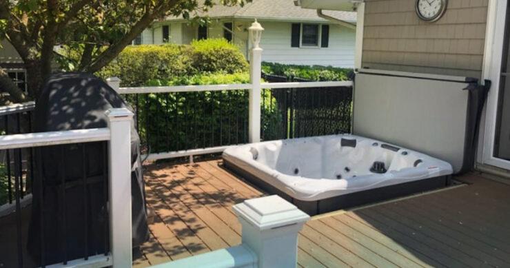 in-ground hot tub installation ideas