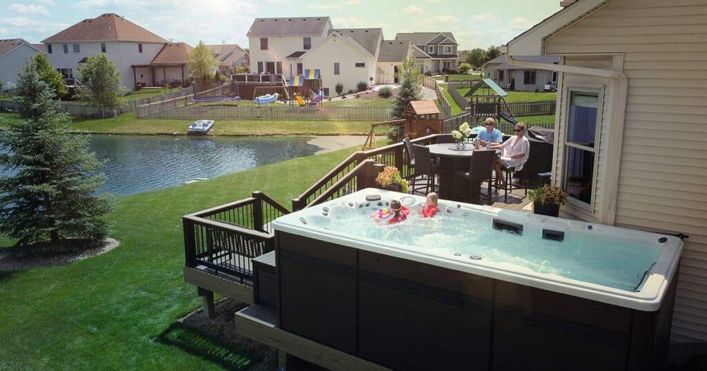Memorial Day weekend family pool