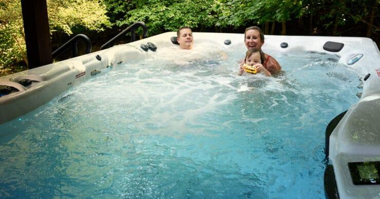 summer swim spa care