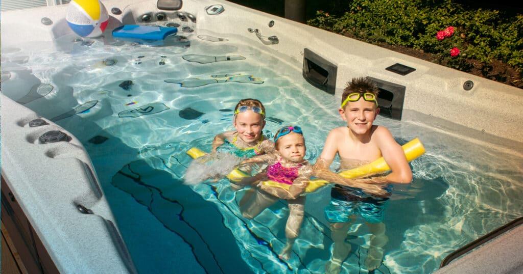 summer party swim spa
