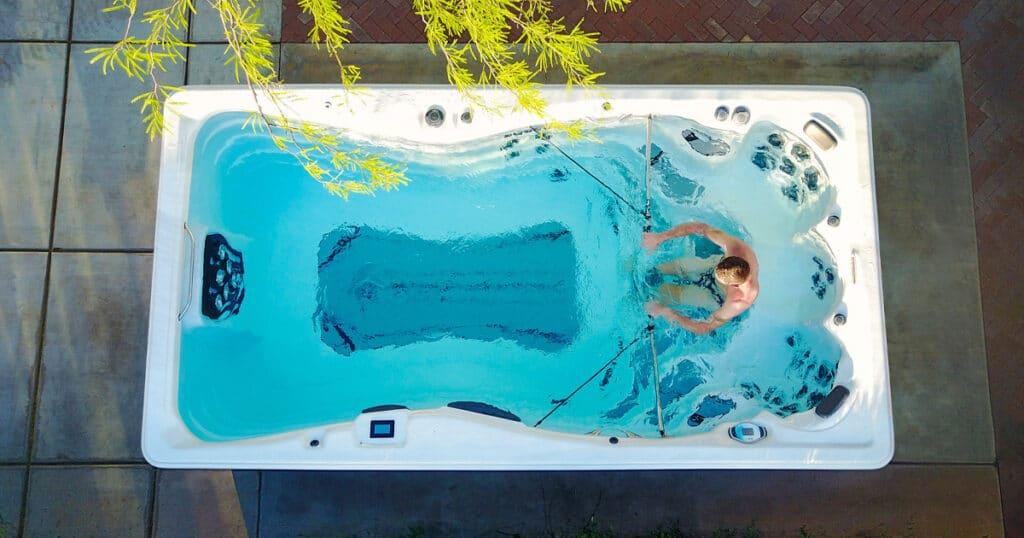 swim spa exercise