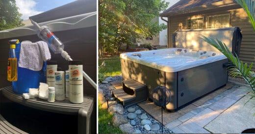 hot tub maintenance kit