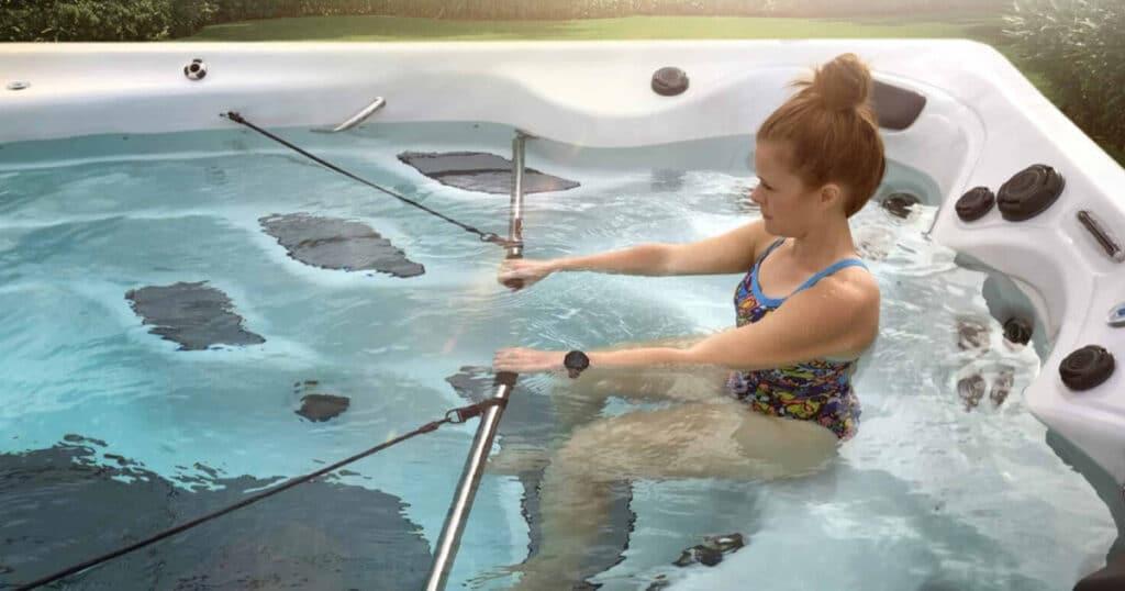 swim spa workout