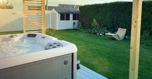 hot tub landscaping ideas