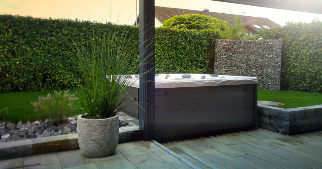 spa landscaping tips