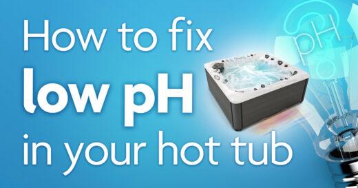 low ph hot tub