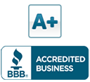Received an A+ accredited business rating
