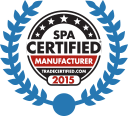 Master Spas is a spa certified manufacturer