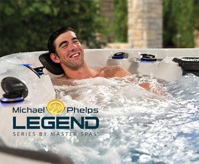 Michael Phelps Legend Series Hot Tub