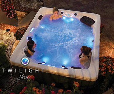 Twilight Series Hot Tubs
