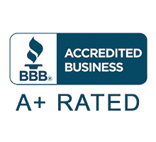 A+ Rated and an Accredited Business by the Better Business Bureau