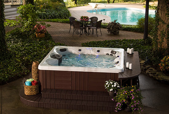 Small Backyard Jacuzzi Ideas Various Design