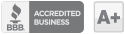 Better Business Bureau A+ Accredidation
