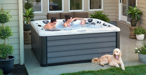 Trade in your old hot tub for a brand new master spas