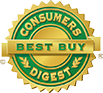 Awarded Consumer Digest Best Buy Rating
