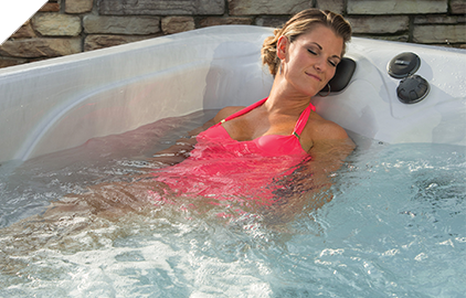 Relax after a long day in a Master Spas Hot Tub