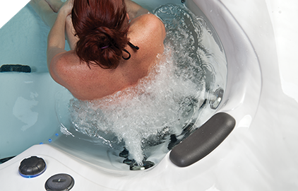 Master Spas Xtreme Therapy™ Seat soothes away aches and pains