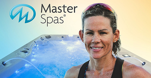 Master Spas announces its newest brand ambassador, Mirinda Carfrae